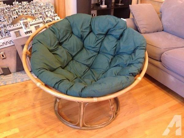 Papasan Chair Cushion Pier One Imports Excellent Condition