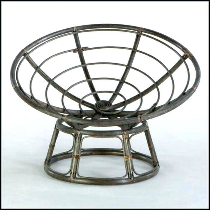 Papasan Chair Stand Double Frame