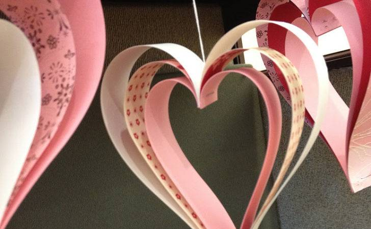 Paper Heart Projects Valentines Day Weddings Just Because