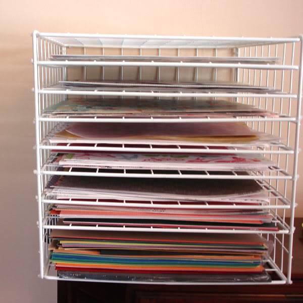 Paper Storage Rack