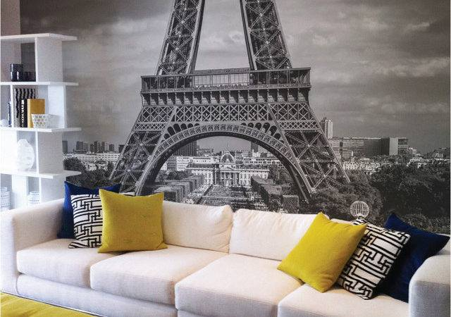Paris Removable Wall Mural Contemporary