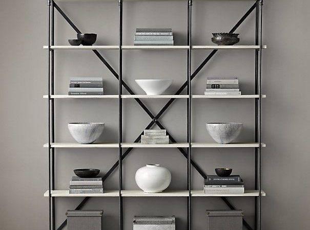 Parisian Cornice Wide Bookcase Bookshelves Pinterest