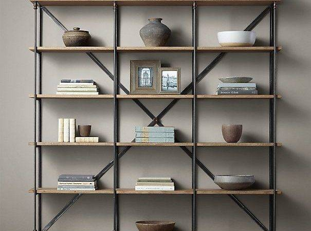 Parisian Cornice Wide Bookcase New Digs Pinterest