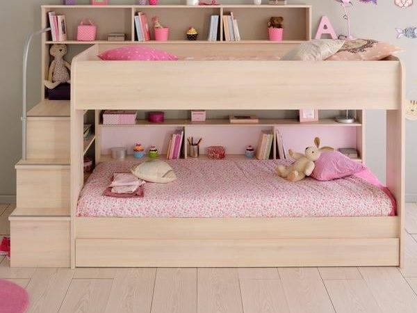 Parisot Acacia Bibop Bunk Bed Optional Drawer