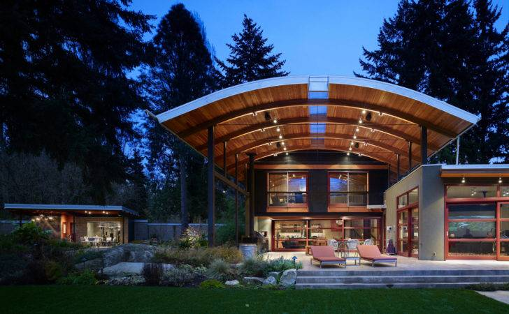 Park Like Setting Suburban Seattle Washington Unique House