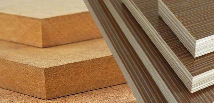 Particle Board Mdf Plywood Comparison