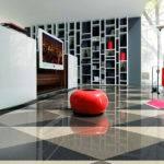 Partition Interior Design Modern Minimalist Bedroom