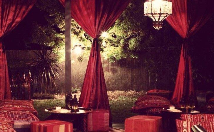 Party Shahidah Wedding Moroccan Theme Boho