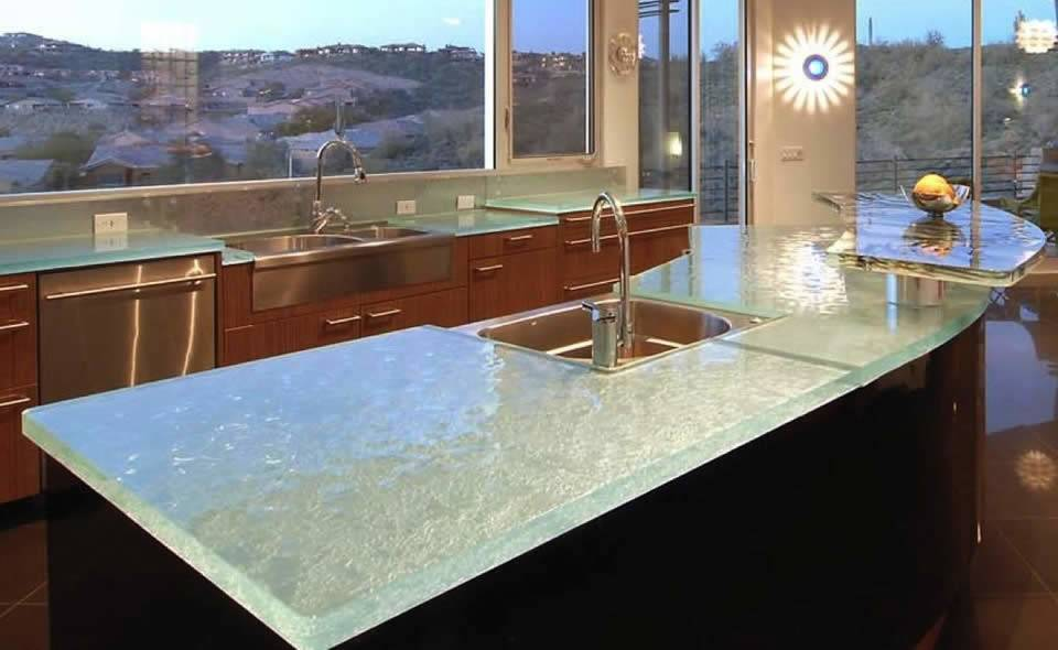 Past Few Years Glass Countertops Also Recycled