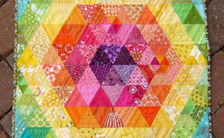Patchwork Prism Front Quilt Pattern