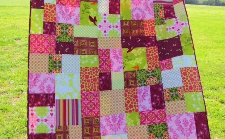 Patchwork Quilt Random Pattern Custom Order