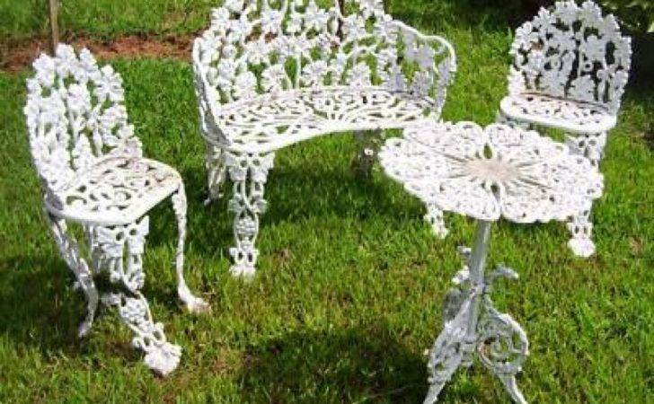Patio Chairs Charming Antique Metal