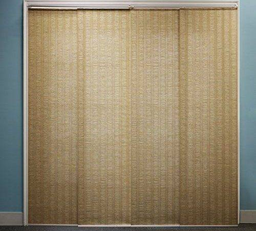 Patio Door New Privacy Vertical Blinds Large Window Durable Pvc
