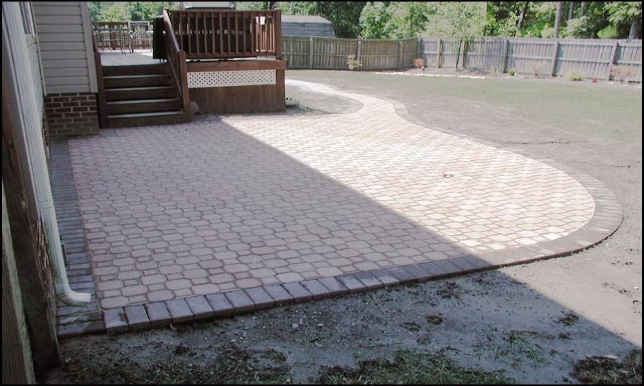 Patio Pavers Designs Paver Design Patterns Interlocking