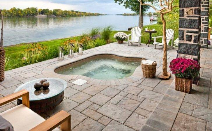 Pation River Should Definitely Feature Ground Hot Tub
