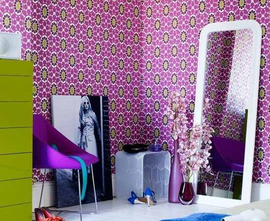 Patterned Teenage Girls Bedroom Ideas Housetohome