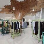 Paul Coudamy Transforms Tokyo Boutique Wooden Planks