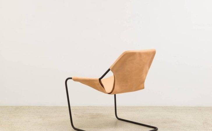 Paulistano Chair Natural Leather Paulo Mendes