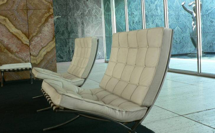 Pavelle Mies Van Del Rohe Barcelona Chair Wikimedia Commons