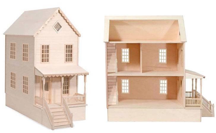 Pdf Diy Wood Doll House Kits Template