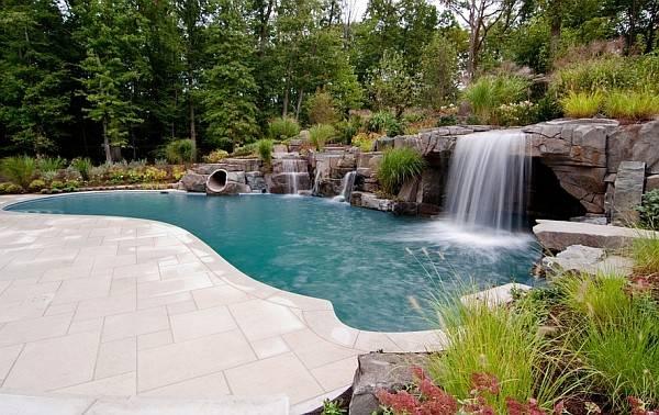 Peaceful Pool Retreat New York Breathtaking Waterfalls