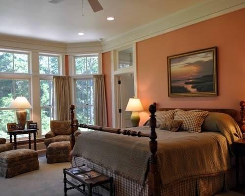 Peach Bedroom Ideas Remodel Decor