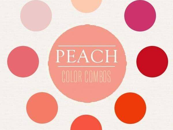 Peach Color Combination Inspiration Pastels Wall Combos