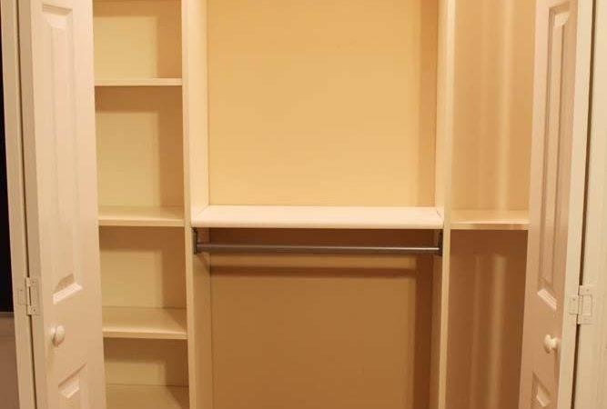 Peach Street Blog Our Under Closet System Ikea Hack