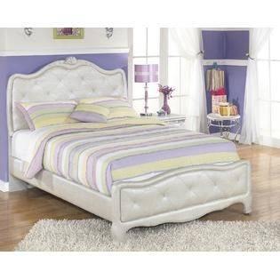 Pearl Girl Bedroom Set Bed Dresser Mirror Night Stands