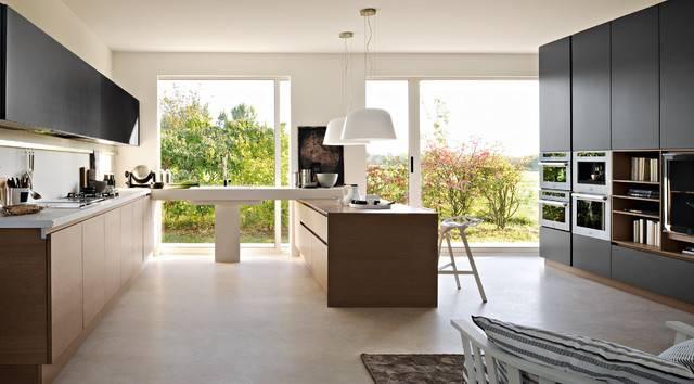 Pedini Integra Modern Kitchen Cabinetry Other Metro
