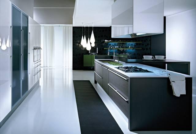 Pedini Modern Kitchen Cabinetry Other Metro