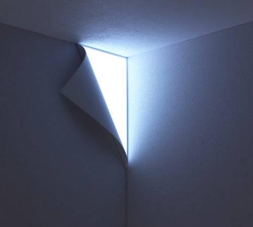 Peel Wall Light Looks Like Your Peeling Off Reveal Wonders