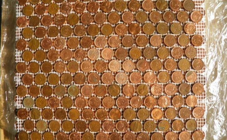 Penny Floor Tile Template Diy Extreme Wall