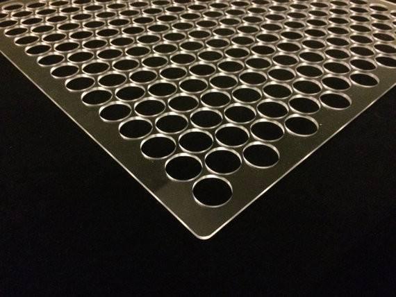 Penny Floor Tile Template Jig Plexiglass Pennyfloortemplate