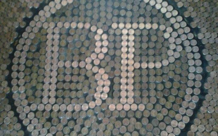 Penny Tile Floor