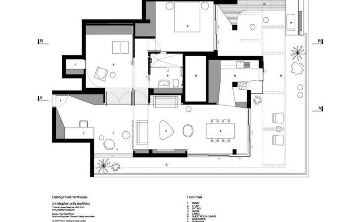 Penthouse Apartment Floor Plan Design Ikea