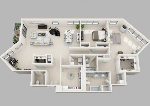 Penthouse Apartment Floor Plans Dfiles