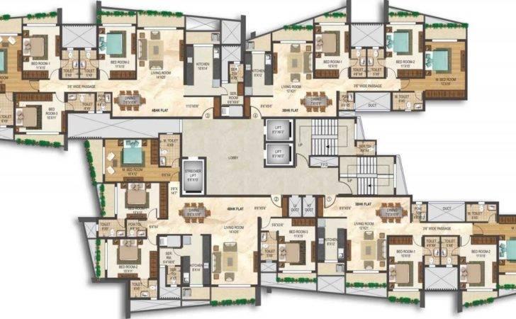 Penthouse Apartment Floor Plans Pre Launch Worli Flat Sale