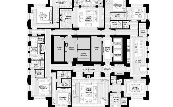 Penthouse Apartment Plans Imgarcade Arcade