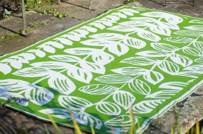 Perennial Outdoor Area Rug Moss Ivory
