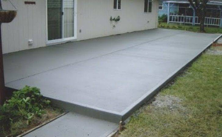 Perfect Patio Design Ideas Concrete