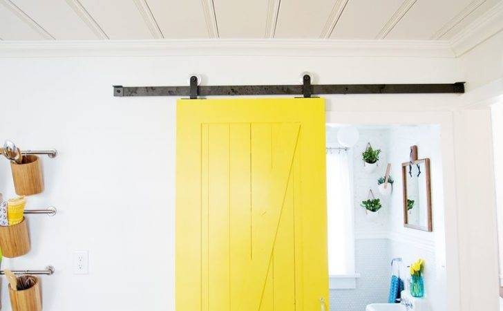 Perfect Small Spaces Sliding Door Diy Through Tutorial
