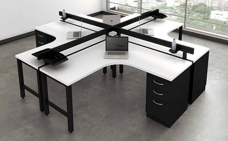 Person Desking Unit Benching System