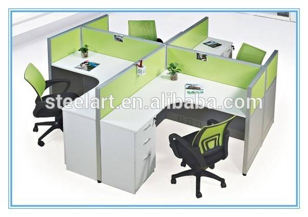 Person Office Workstation Modern Design Cubicle