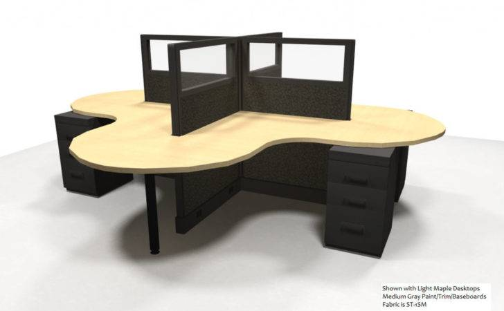 Person Office Workstations Furniture