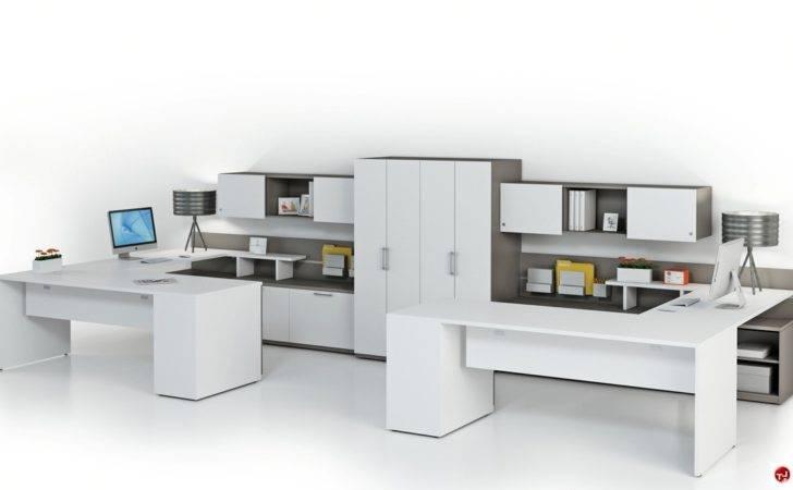 Person Shape Office Desk Cubicle Cluster Workstation