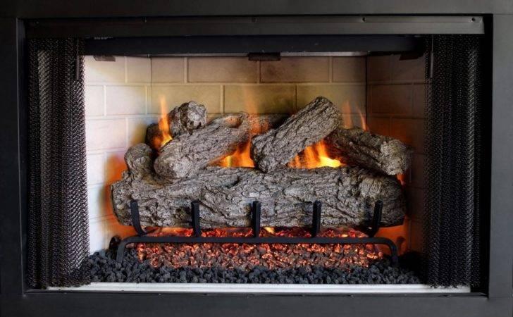 Peterson Real Fyre Inch Rustic Oak Outdoor Gas Log Set Vented