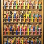 Pez Dispenser Display Case Holds Dsbwoodproducts