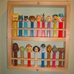 Pez Display Case Small Holds Dispencers Similar Items