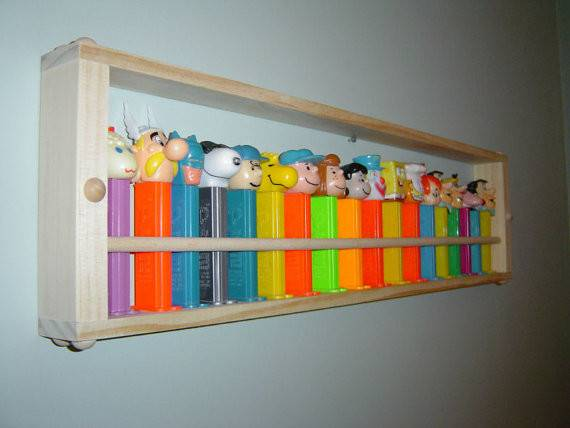 Pez Display Shelf Small Jtnsproducts Etsy